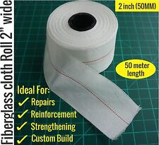 Fiberglass cloth roll 2 inch wide (50Meter length) - Reinforce/Repair/Strengthen