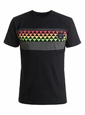 New QUIKSILVER Mens Eddie Band Tee, Eddie Aikau T-Shirt- Black- NWT