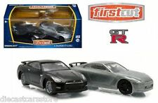 GREENLIGHT FIRST CUT 2014 NISSAN GTR R-35 2 PACK EXCLUSIVE 1/64 DIECAST 29831