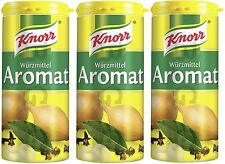 Knorr Germany - 3 x AROMAT - 3 x 100 g shaker - German Product