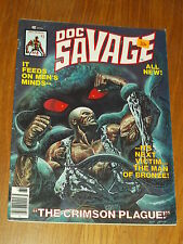 DOC SAVAGE #8 MAN OF BRONZE FN- (5.5) MARCH 1977 CURTIS US MAGAZINE<~