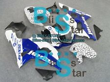 pattern Blue GSX-R1000 Fairing For Suzuki GSXR1000 2001 2000-2002 021 YY
