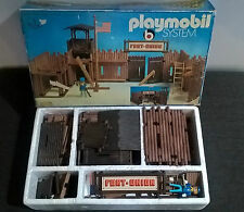 PLAYMOBIL 3420 WESTERN FORT UNION LIKE NEW VERY RARE!