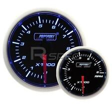 Prosport 52mm Super Smoked Blue / White RPM Revs Petrol 0-10000RPM Gauge