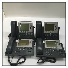 4x Cisco Systems 7960G IP Telephones CP-7960G