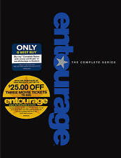 Entourage: The Complete Series (Blu-ray Disc, 2015, Movie Money Only @ Best Buy)