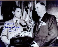 Johnny Lujack, Notre Dame 1947 Heisman Trophy Winner, Signed Photo, COA