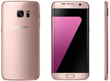 Samsung Galaxy S7 edge SM-G935 Latest 32GB Pink Gold AT&T) 9/10 Unlocked