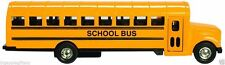 Yellow School Bus Diecast Model pull back action openable doors 6 inch