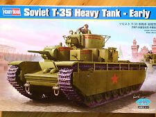 Hobbyboss 1:35 T-35 Early Version Soviet Heavy Tank Model Kit