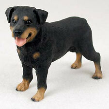 Rottweiler Hand Painted Collectible Dog Figurine