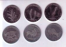 Lot Medaillen Welthungerhilfe / Getreide / Nutztiere - 6 Stück
