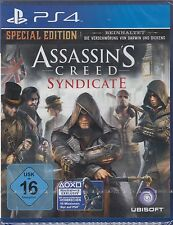 Assassin's Creed syndicate-special edition pour ps4 NEUF & OVP version allemande