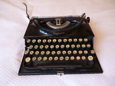 """VINTAGE 1930/40s IMPERIAL """"THE GOOD COMPANION"""" TYPEWRITER+Case-for refurbishment"""