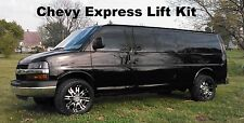 Chevy Express Lift Kit Van Leveling Front GMC Savana 2003-2016 2wd Chevrolet