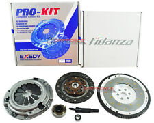 EXEDY CLUTCH KIT+FIDANZA FLYWHEEL 1989-91 HONDA CIVIC CRX 1.5L 1.6L SOHC D15 D16
