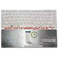 Tastiera USA CNYAEBY3U00010D8702917 Bianco Toshiba Satellite L800, L805, L830