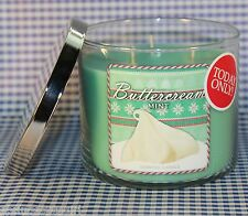 Bath & Body Works BUTTERCREAM MINT 3-Wick 14.5 oz Candle Cupcake BLACK FRIDAY