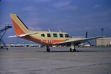 COURT LINE Piper Navajo G-AYEI at Luton Airport - 6 x 4 Print