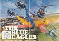 ANNUARIO YEARBOOK the Blue Eagles Army HELICOPTER display team 1976, RARO, RARE!