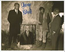 Hand Signed 8x10 photo GEORGE MIKELL - GUNS OF NAVARONE - Peck Niven  + my COA