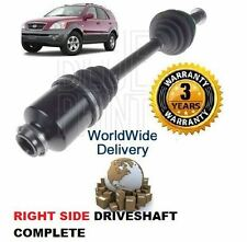 FOR KIA SORENTO 2.5 CRDi 3.5 V6 2003-2006 NEW RIGHT SIDE DRIVESHAFT DRIVE SHAFT