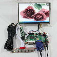 VGA DVI LCD driver board 7inch 1280x800 N070ICG-LD1 IPS LCD panel touch screen