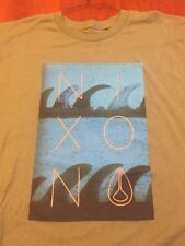 Nixon Men Shadows Military Green Short Sleeve Medium T-Shirts S2093