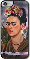Cover per iPhone 7 con stampa Autoritratto di Frida Kahlo