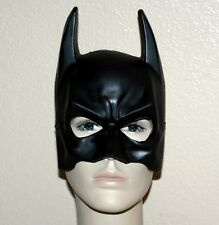 BATMAN The DARK KNIGHT DC Comics Justice League Superhero ADULT VINYL HALF MASK