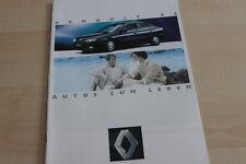 123479) Renault Espace J63 - Safrane - Laguna - Twingo Prospekt 04/1994