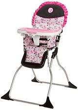 Disney Minnie Mouse HIGH CHAIR, Simple Fold Plus Adjustable Tray BABY CHAIRS