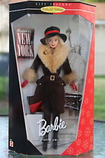 1997 Barbie Collector Edition City Seasons WINTER IN NEW YORK New In Box NRFB