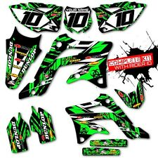 2009 2010 2011 KXF 450 GRAPHICS KIT KAWASAKI KX450F 450F MOTOCROSS BIKE DECALS