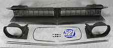 Mopar 70 1970 Plymouth Barracuda Cuda Main Grill Grille Headlight Bezels Set NEW