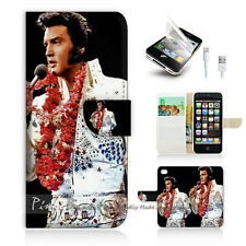 iPhone 5 5S Flip Phone Case Cover PB10133 Elvis Presley