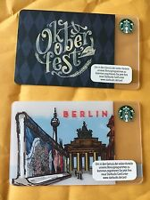 oktoberfest And Berlin Starbucks Card