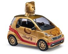 "Busch 46212 Smart Fortwo´12 ""Lindt Teddy "" gold "" 1:87"