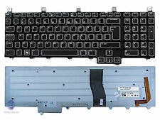 NEW Genuine Dell Alienware M17x R4 Laptop Backlit Keyboard UK