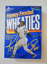 Wheaties Ken Griffey Jr collectors edition 1996 14.75 oz full cereal box