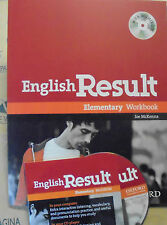 ENGLISH RESULT ELEMENTARY WORKBOOK con Cd - JOE McKENNA - OXFORD