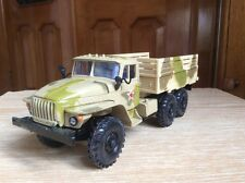 Ural 4320 1:43   Russian 6X6 military camo delivery truck model 1/43 USSR
