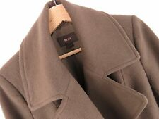 F682 REISS COAT ORIGINAL PREMIUM WOOL CASHMERE DOUBLE-BREASTED UNIQUE size L