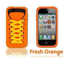 Play Hello Orange Ishoe Sporty Silicone Case For iPhone 4