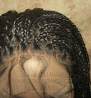 Extra Long Fully Hand Micro Braided Lace Front Wig Poetic Justice Box Braids