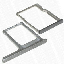 HTC ONE M8 Replacement SIM Card SD Memory Card Tray Holder Plate Gun Metal Grey