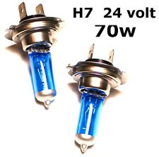 2 x Replacement XENON H7 24v 70w Lorry Truck Tractor Head Lamps Light Bulbs 24v
