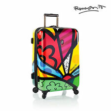"Heys Romero Britto Luggage 26"" A New Day Fashion Hardside Spinner Suitcase"
