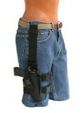 D&T Tactical Thigh Gun Holster For Glock 17,19,20,21,31,38 With Tactical light