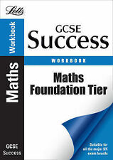Maths - Foundation Tier: Revision Workbook by Letts Educational (Paperback,...